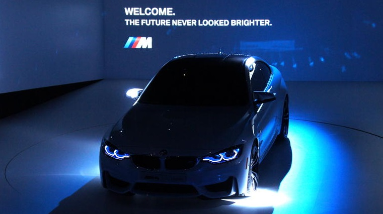 CES BMW Combines Smart Laser Lights And ADAS - Car laser light show