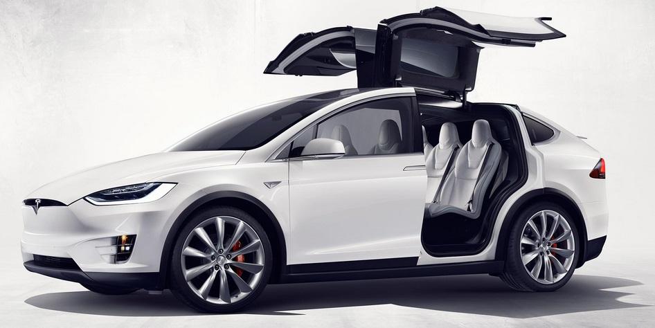 Tesla X Exterior