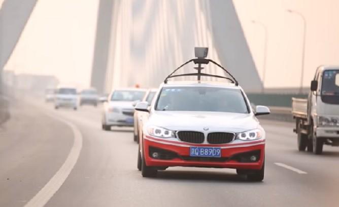 Baidu Self Driving Test Car In China 668x409
